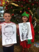 Caricatures Deeside Chester..